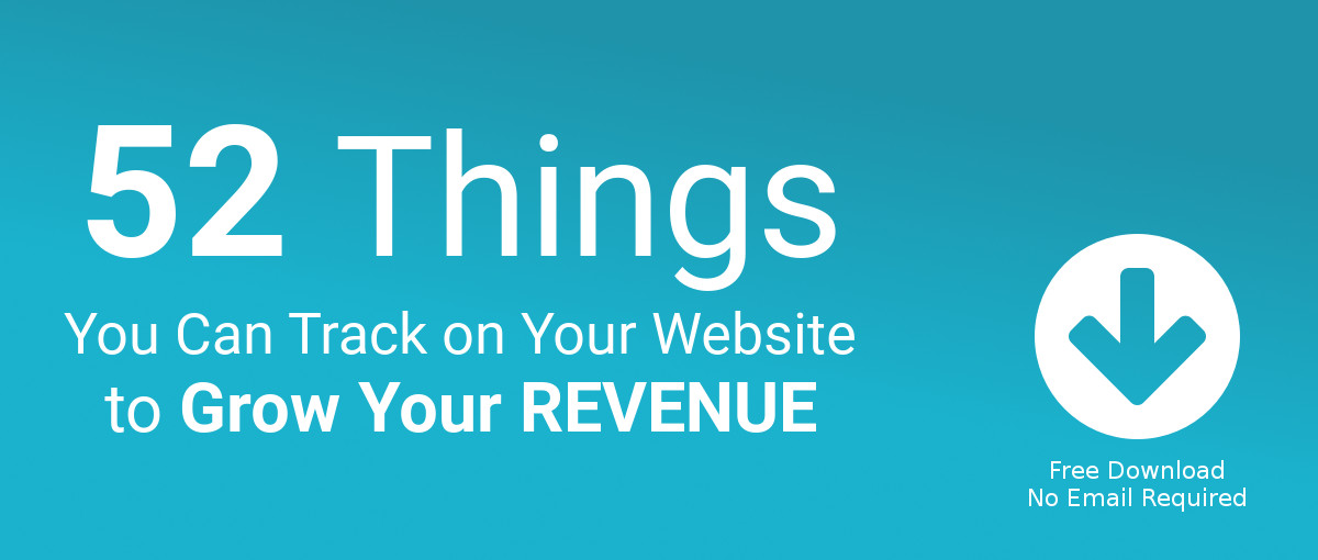 52 things you can track on your website