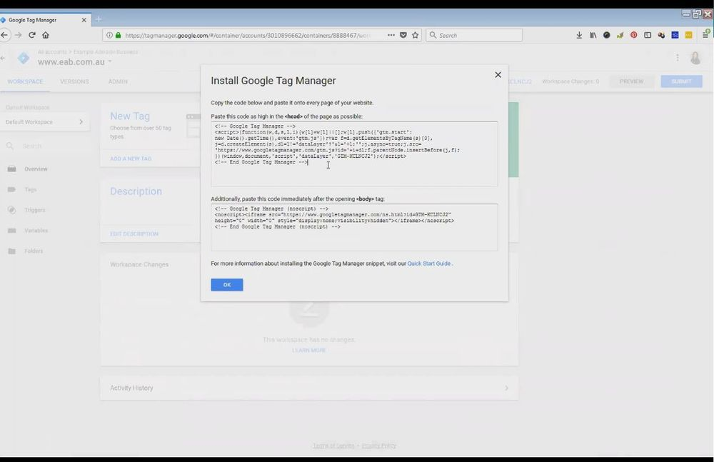 Adding Google Analytics to Google Tag Manager