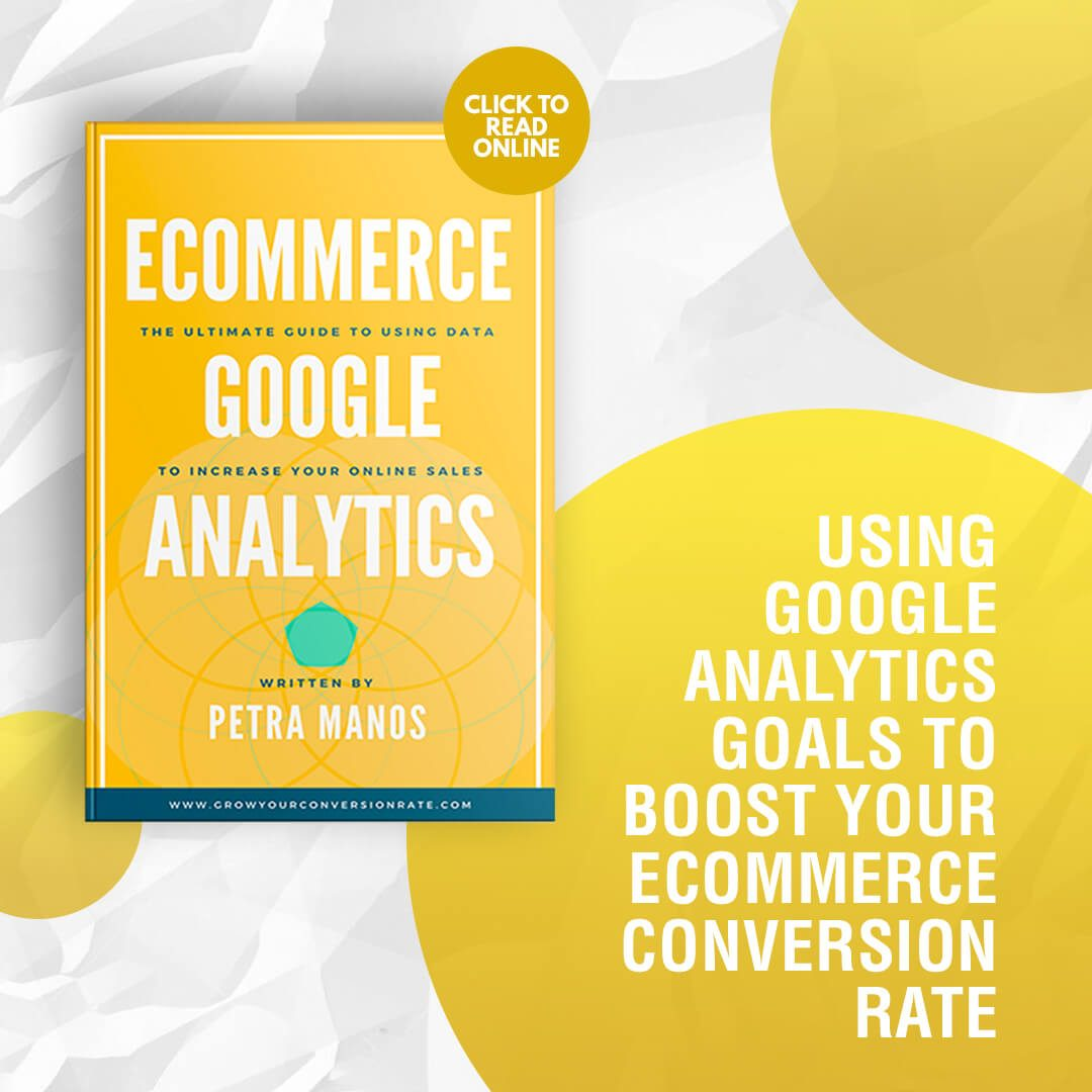 Google Analytics boost ecommerce conversion rate