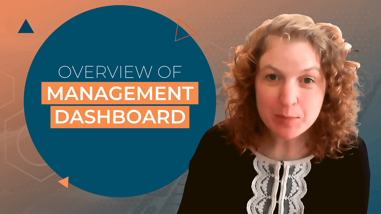[Video] Overview of a Management Dashboard
