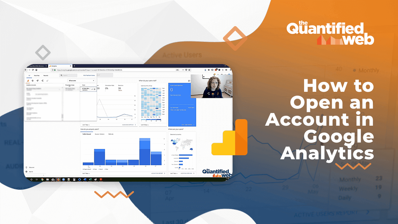 [Video] How to Open an Account in Google Analytics