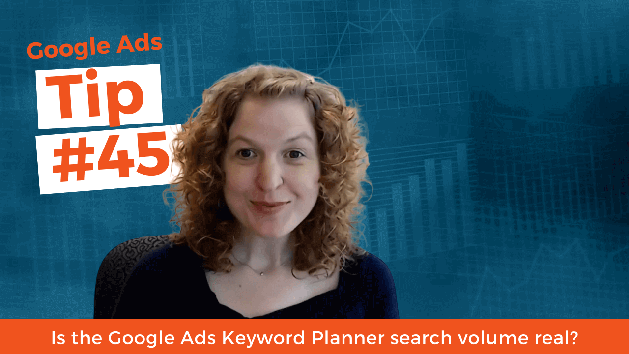 Is the Google Ads Keyword Planner search volume real?
