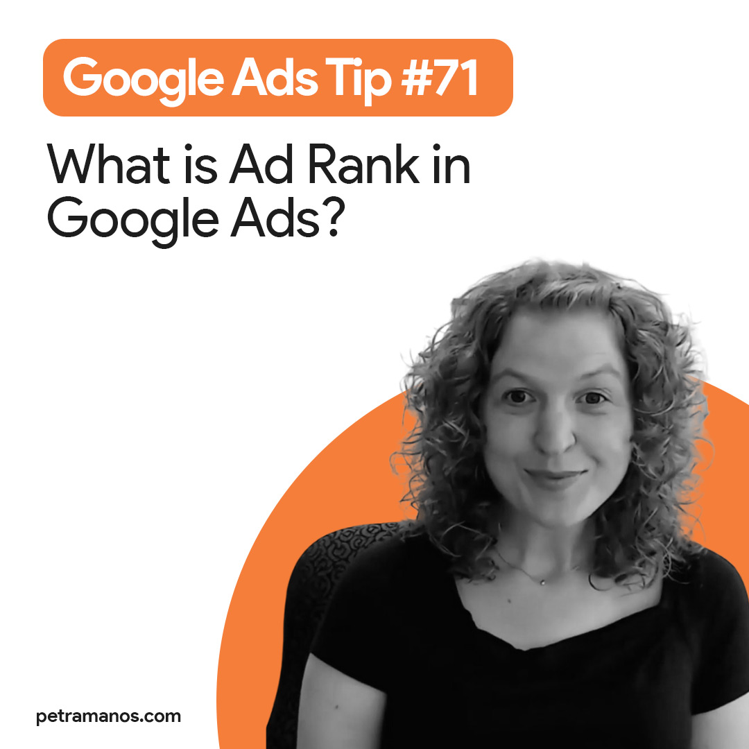 What is Ad Rank in Google Ads?