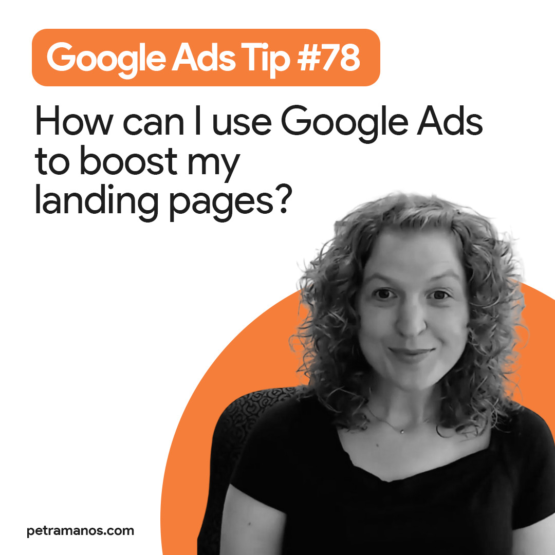 How can I use Google Ads to boost my landing pages?