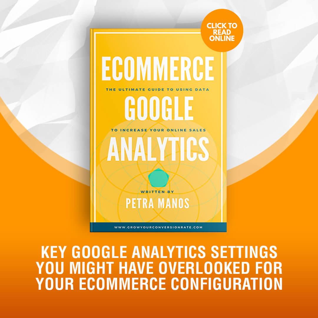 Google Analytics Settings Ecommerce Configuration