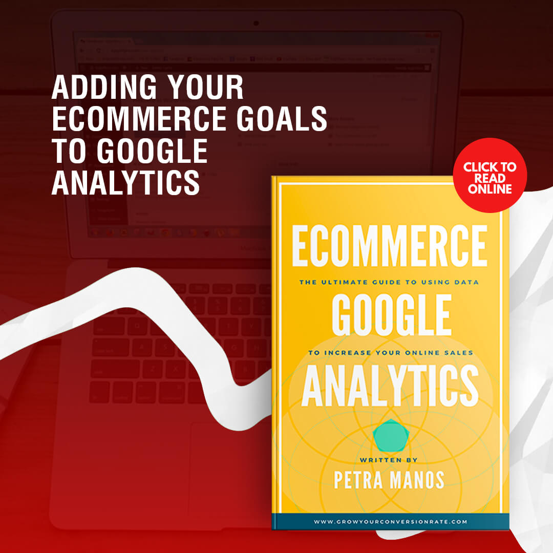 Adding Ecommerce Goals Google Analytics